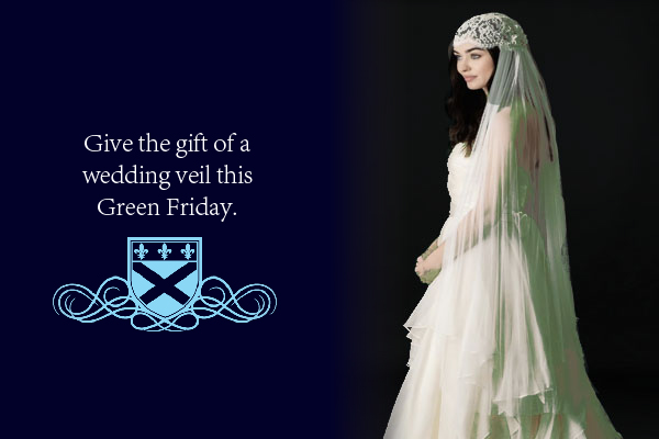 Give the gift of a wedding veil this Green Friday