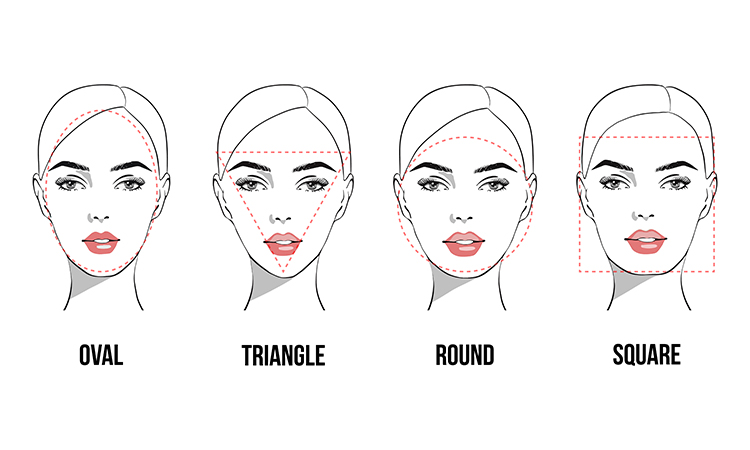 use our faceshape guide to figure out which wedding veil is the one for you